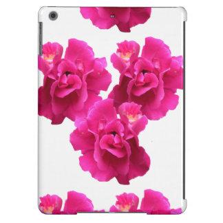 Caso floral do iPad dos rosas do rosa do rosa de Capa Para iPad Air