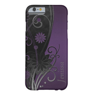 Caso floral do iPhone 6 Capa Barely There Para iPhone 6