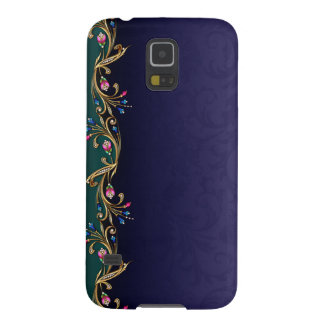 Caso floral do nexo da galáxia de Samsung da Capas Par Galaxy S5