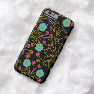 Caso floral elegante do iPhone 6 Capa Barely There Para iPhone 6