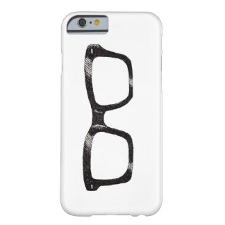 """caso """"geek legal """" do iPhone 5 Capa Barely There Para iPhone 6"""