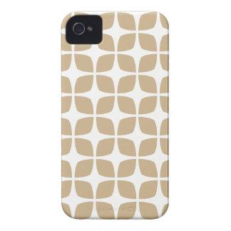 Caso geométrico do iPhone 4S na areia Brown Capinhas iPhone 4