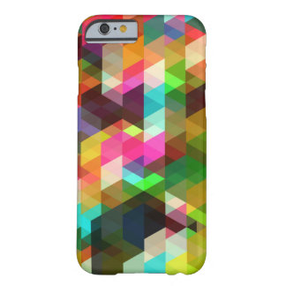 Caso geométrico do iPhone 6 Capa Barely There Para iPhone 6