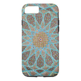 Caso geométrico do teste padrão do mosaico capa iPhone 7