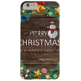 Caso IP6/6 do Feliz Natal 2016+ Capa Barely There Para iPhone 6 Plus