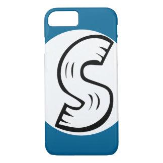 Caso legal do iPhone 7 do monograma do design de S Capa iPhone 8/ 7