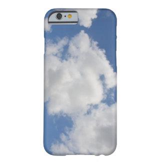 Caso lunático do iPhone 6 da nuvem Capa Barely There Para iPhone 6