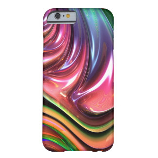 Caso lustroso abstrato capa barely there para iPhone 6