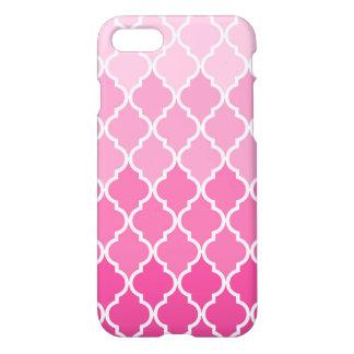 Caso lustroso do iPhone 7 cor-de-rosa de Capa iPhone 7