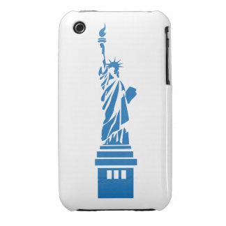 Caso-Mães do blackberry curve da senhora Liberdade Capa Para iPhone 3