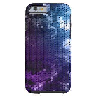 Caso metálico abstrato do iPhone 6 do encanto Capa Tough Para iPhone 6
