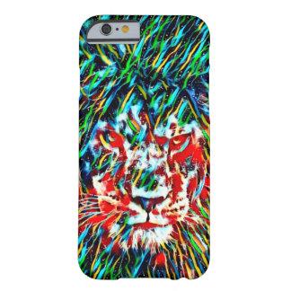 Caso místico do iPhone 6/6s da arte do leão da Capa Barely There Para iPhone 6