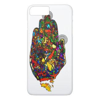 Caso místico do iPhone 7 da mão Capa iPhone 7 Plus