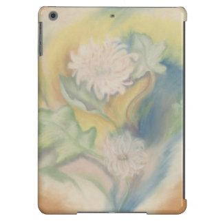 Caso moderno floral do iPad dos Pastels do olhar Capa Para iPad Air