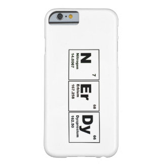 Caso Nerdy do iPhone 6 Capa Barely There Para iPhone 6