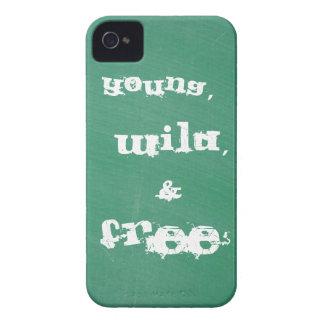 Caso novo, selvagem, e livre do iPhone 4/4s Capa Para iPhone 4 Case-Mate