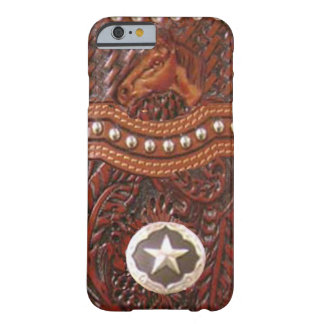 """Caso ocidental do iPhone 6 do cavalo selvagem"" Capa Barely There Para iPhone 6"