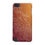 Caso ornamentado do design do estilo do henna da f capa para iPod touch 5G