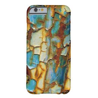 Caso oxidado do iPhone 6 da pintura Capa Barely There Para iPhone 6