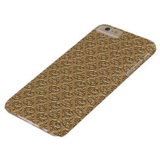 Caso positivo de IPhone 6 dourados do damasco Capas iPhone 6 Plus Barely There