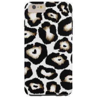 Caso positivo do iPhone 6 do impressão do leopardo Capas iPhone 6 Plus Tough