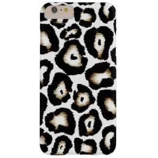 Caso positivo do iPhone 6 do leopardo de neve Capas iPhone 6 Plus Barely There