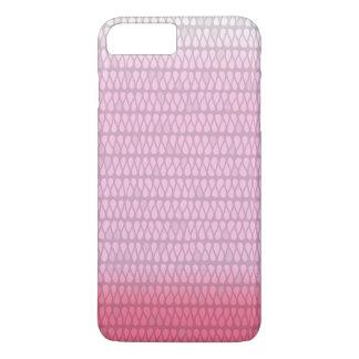 Caso positivo do iPhone 7 cor-de-rosa da tintura Capa iPhone 7 Plus