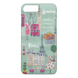 Caso positivo do iPhone 7 de Londres Paris | do Capa iPhone 7 Plus