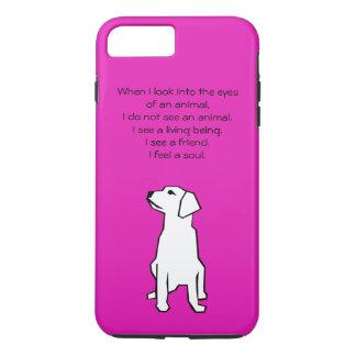 Caso positivo do iPhone 7 do amante dos animais Capa iPhone 7 Plus