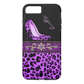 Caso positivo do iPhone 7 roxos glamoroso do Capa iPhone 7 Plus