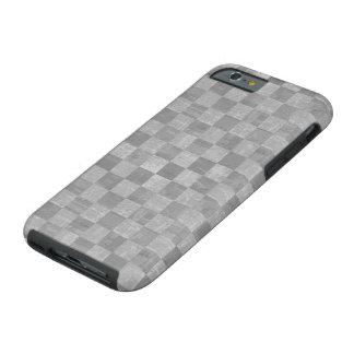 Caso resistente do iPhone 6 do Grunge Checkered Capa Tough Para iPhone 6