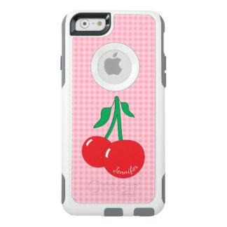 Caso retro do iPhone 6/6S do guingão das cerejas