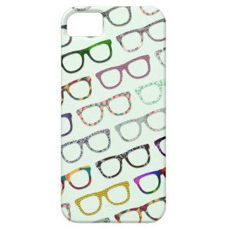 Caso retro do teste padrão iPhone5 dos vidros do Capa Para iPhone 5