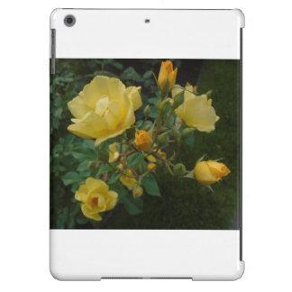 caso rústico do ipad do boho floral dos rosas capa para iPad air