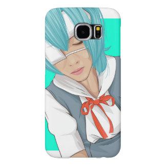 "Caso Samsung do vetor de Erina Kamiya ""Kamen Capas Samsung Galaxy S6"