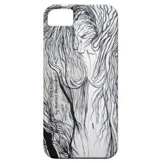 Caso selvagem do iPhone 5 da mulher Capas Para iPhone 5