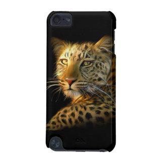 Caso selvagem do ipod touch 5G do leopardo Capa Para iPod Touch 5G
