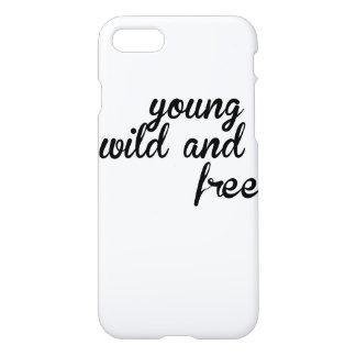 Caso selvagem e livre novo do iPhone 7 lustroso Capa iPhone 7