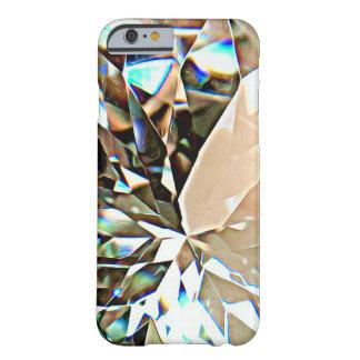Caso Sparkly do iPhone 6 do diamante/caso do Capa Barely There Para iPhone 6