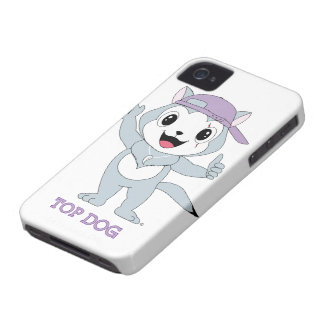 Caso superior de Dog™ Blackberry Capinhas iPhone 4