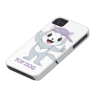 Caso superior de Dog™ Blackberry Capinhas iPhone 4