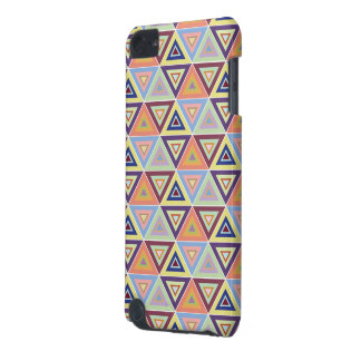 caso triangular do ipod touch 5g do azulejo do tes capa para iPod touch 5G