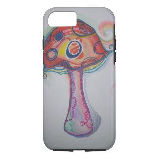 Caso Trippy do iPhone 7 do cogumelo Capa iPhone 7