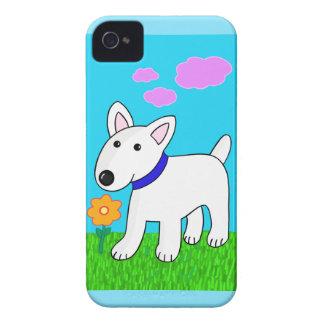Caso universal do iPhone 4 de bull terrier mal lá Capas Para iPhone 4 Case-Mate