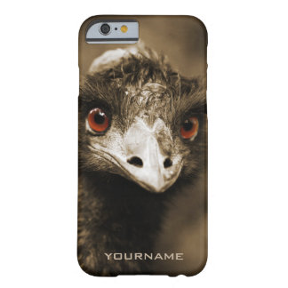 Casos do costume do olhar das avestruzes capa barely there para iPhone 6