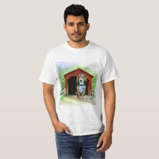 Casota cómico da ponte coberta da angra de Sandy Camiseta