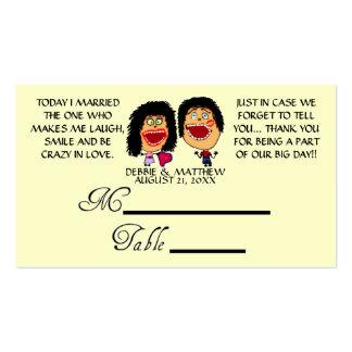 Casou meu melhor amigo que Wedding Placecards Cartão De Visita