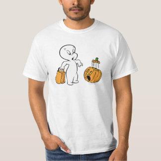 Casper e abóbora 2 camiseta
