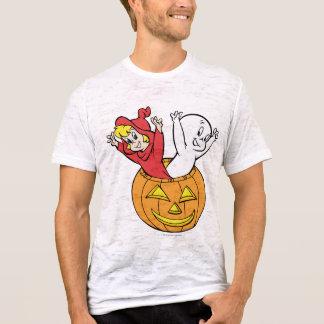 Casper e Wendy na abóbora Camiseta