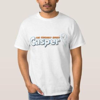 Casper o logotipo amigável 1 do fantasma camiseta